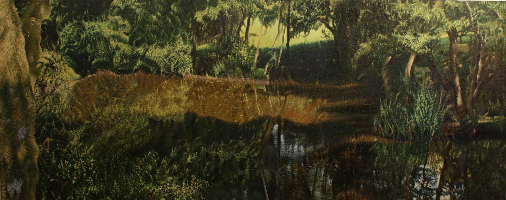 Medieval pond